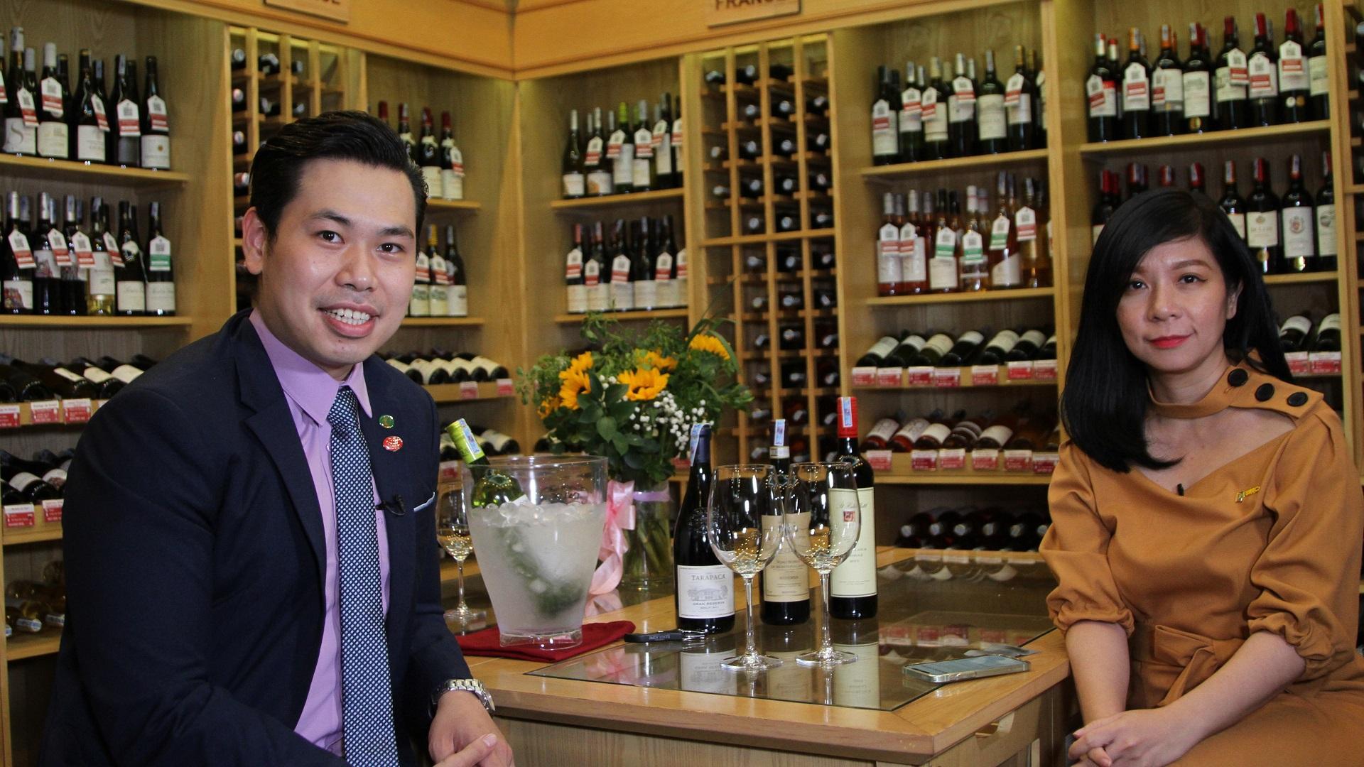 Rượu vang nâng tầm ẩm thực Việt