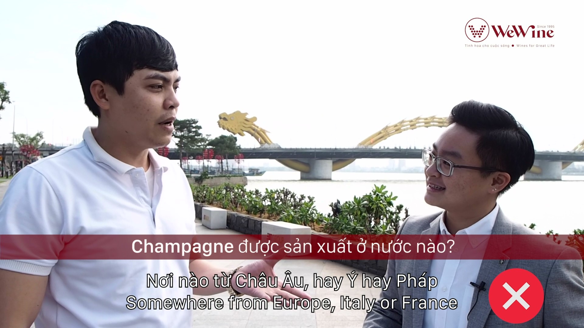 How well Danang people know about wine?
