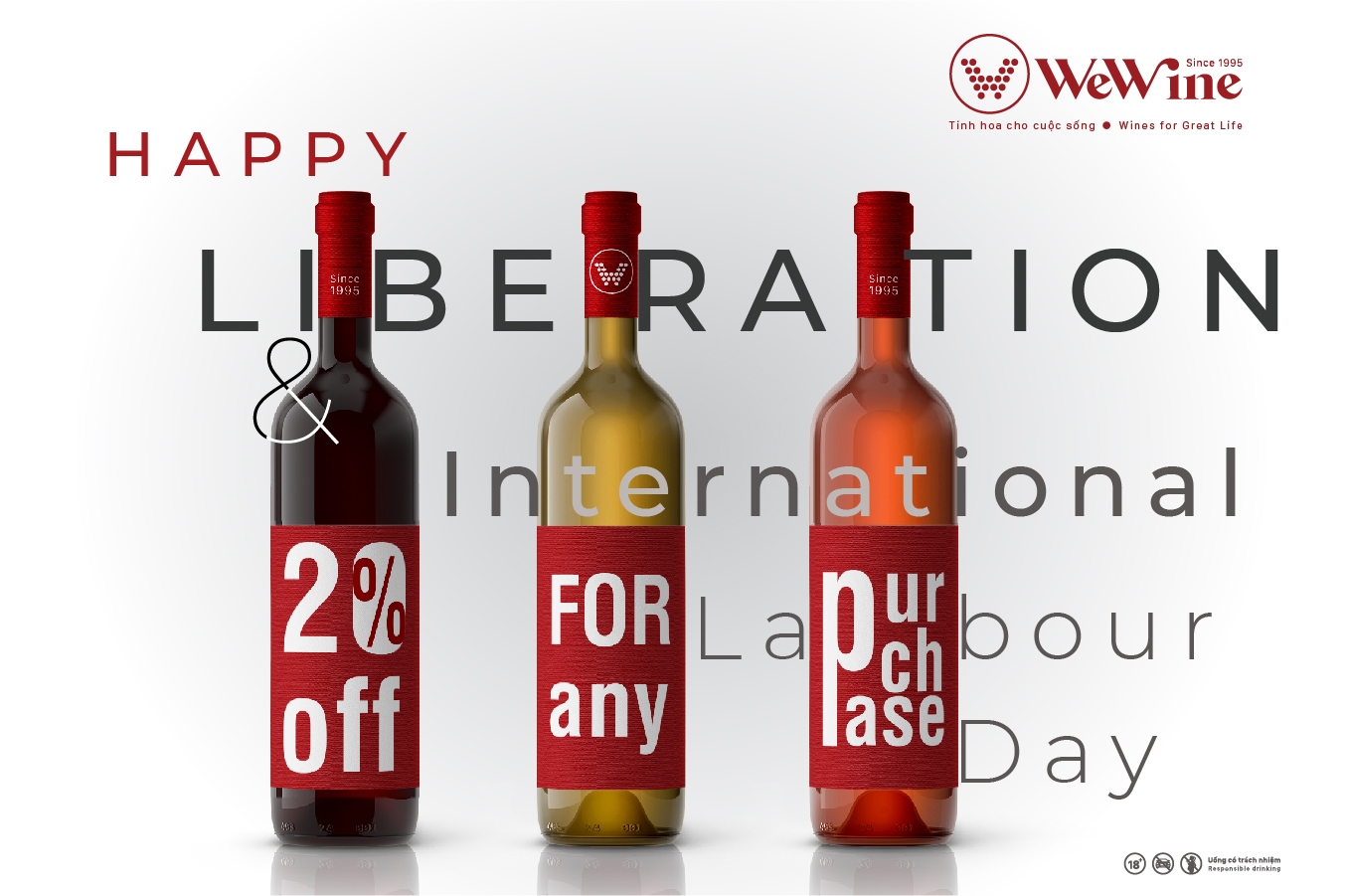 WeWine discount 20% all products in store