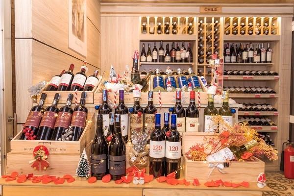 Cung cấp đa dạng các loại rượu vang đến từ nhiều quốc gia trên thế giới