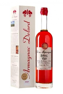 Delord VSOP Ariane Gift Box title=