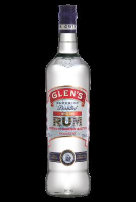 Glen's White Rum title=