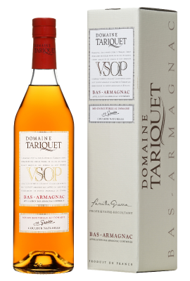 Domaine Tariquet VSOP Bas-Armagnac AOC with Gift Box 0.05L title=