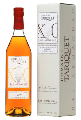 Domaine Tariquet XO Bas-Armagnac AOC with Gift Box 0.05L title=
