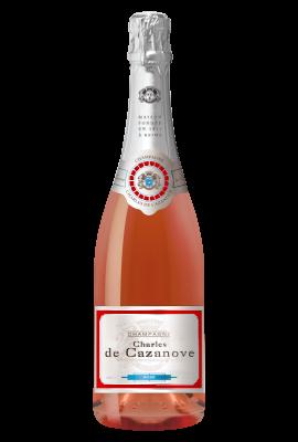 Charles de Cazanove Brut Rose title=