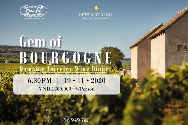 Wine Dinner Gem of Bourgogne