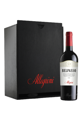 Hộp gỗ 6 chai Allegrini Belpasso title=