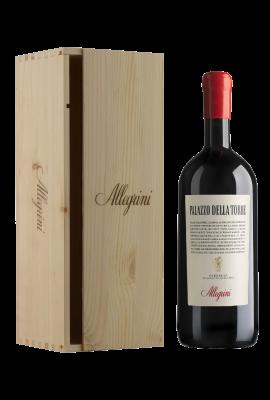 Allegrini Palazzo Della Torre Magnum 1.500L Single-bottle Wooden Case title=