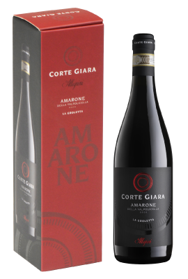 Allegrini Corte Giara Amarone 'La Groletta' Single-bottle Paper Giftbox title=