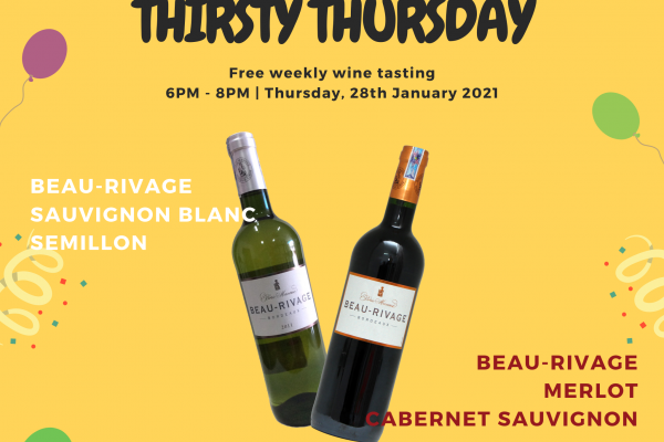 Thirsty Thursday - Beau Rivage Borie Manoux