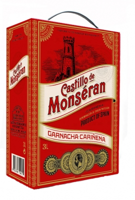 Castillo de Monseran Garnacha Red BIB 3.0L title=