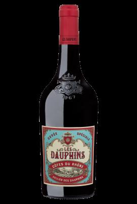 Celliers Des Dauphins Les Dauphins Cuvee Speciale Rouge title=