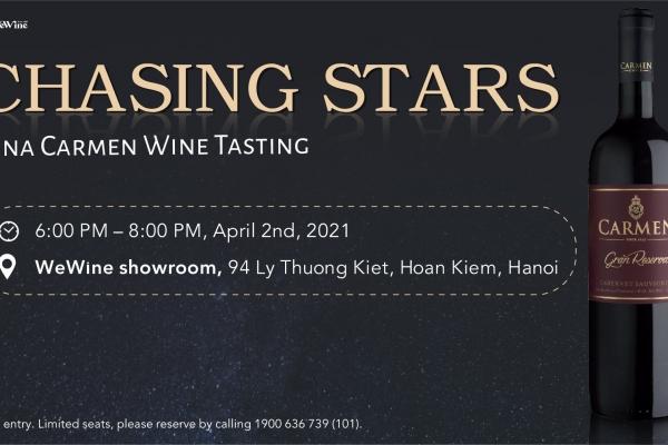 [Hanoi] Chasing Stars - Vina Carmen Wine Tasting
