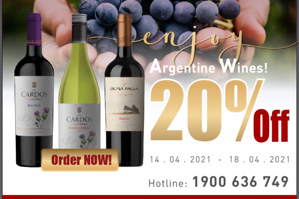 Off 20% Argentina wines