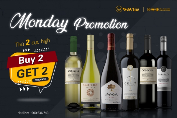 Monday so High with Buy 2 Get 2 Free