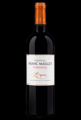 L'Esquive Chateau Franc Maillet Merlot - Cabernet Franc title=