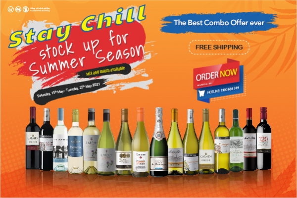 Stay chill - Stock up for Summer Season