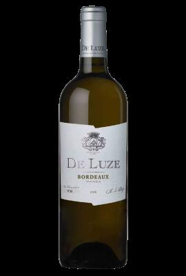 De Luze Bordeaux Blanc white title=