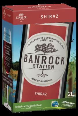 BIB Banrock Station Shiraz 2L title=