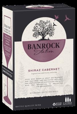 BIB Banrock Station Shiraz Cabernet 2L title=