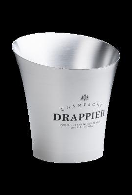 Medium aluminum ice bucket Champagne Drappier title=
